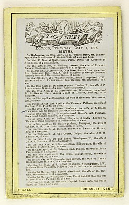 Image of Birth listings