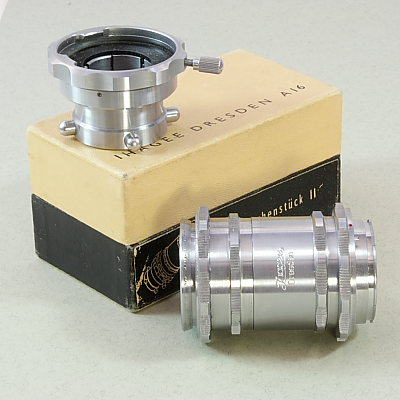 Image of Exakta microscope adapter